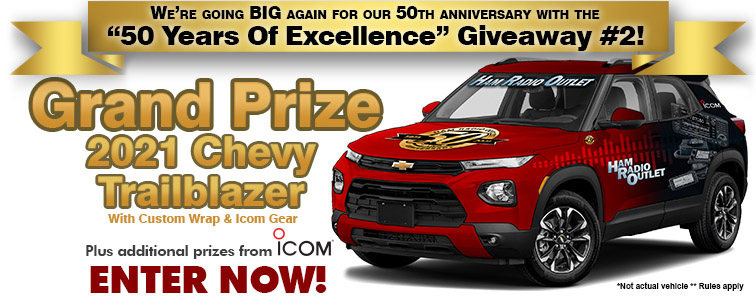 Ham Radio Outlet's 50th Anniversay Giveaway 2