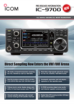 ICOM IC-9700 Transceivers Other, IC9700
