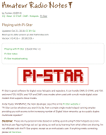 Pi Star Tutorial