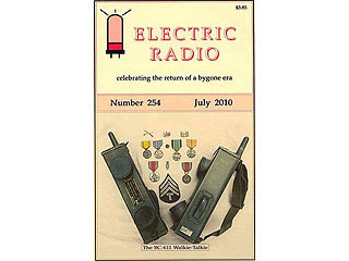 ELECTRIC RADIO ER