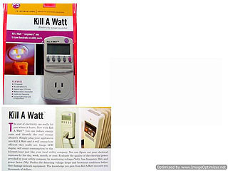 P3 Kill A Watt Ac Power Monitor Killawatt