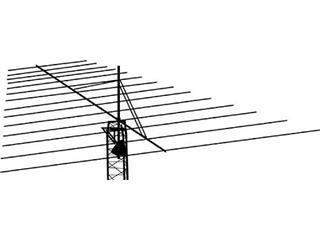 Hy Gain Lp 1010a Antenna Hf Beam Multi Band Lp1010a